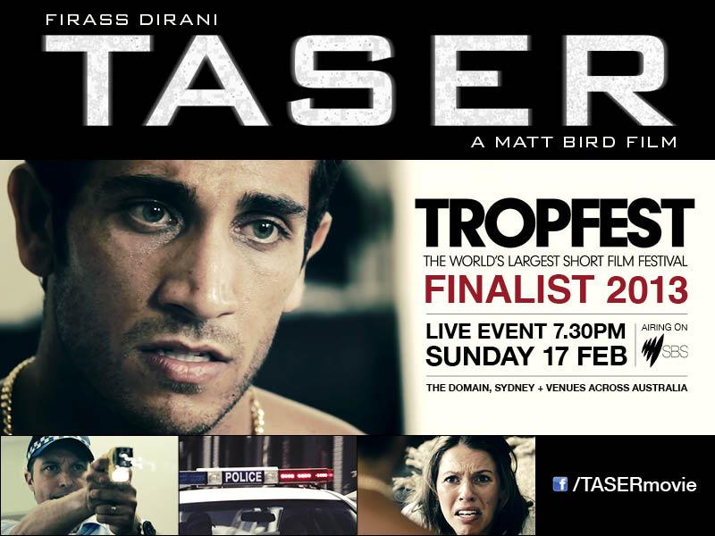 TASER_Tropfest_eflyer