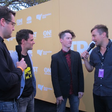 TropFest 2013 finalist film TASER with director Matt Bird