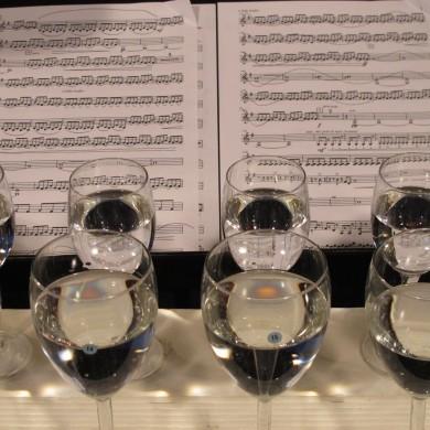 Custom built glass instrument